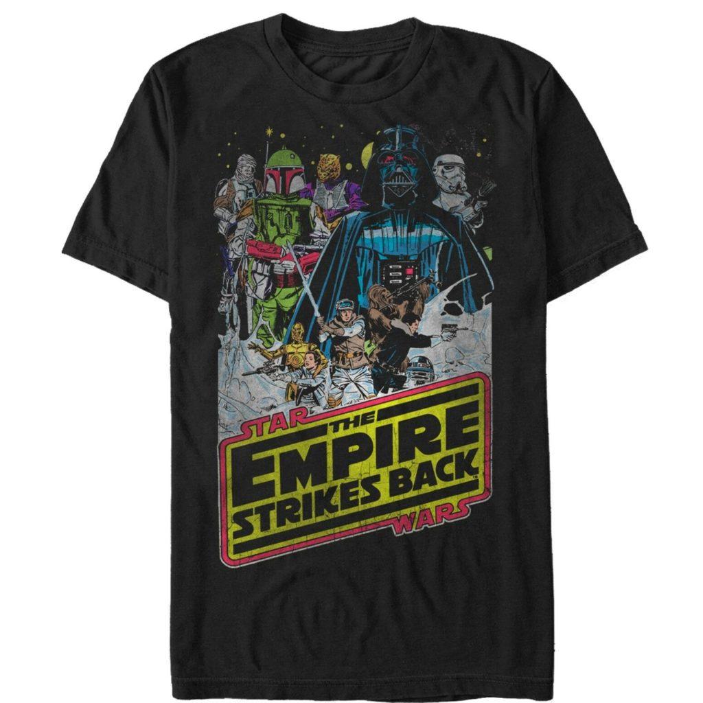 Empire Strikes Back Vintage Tee Shirt curatetoys.com