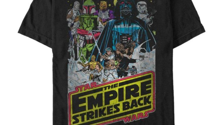 Star Wars Empire Strikes Back Tee Shirt curatetoys.com