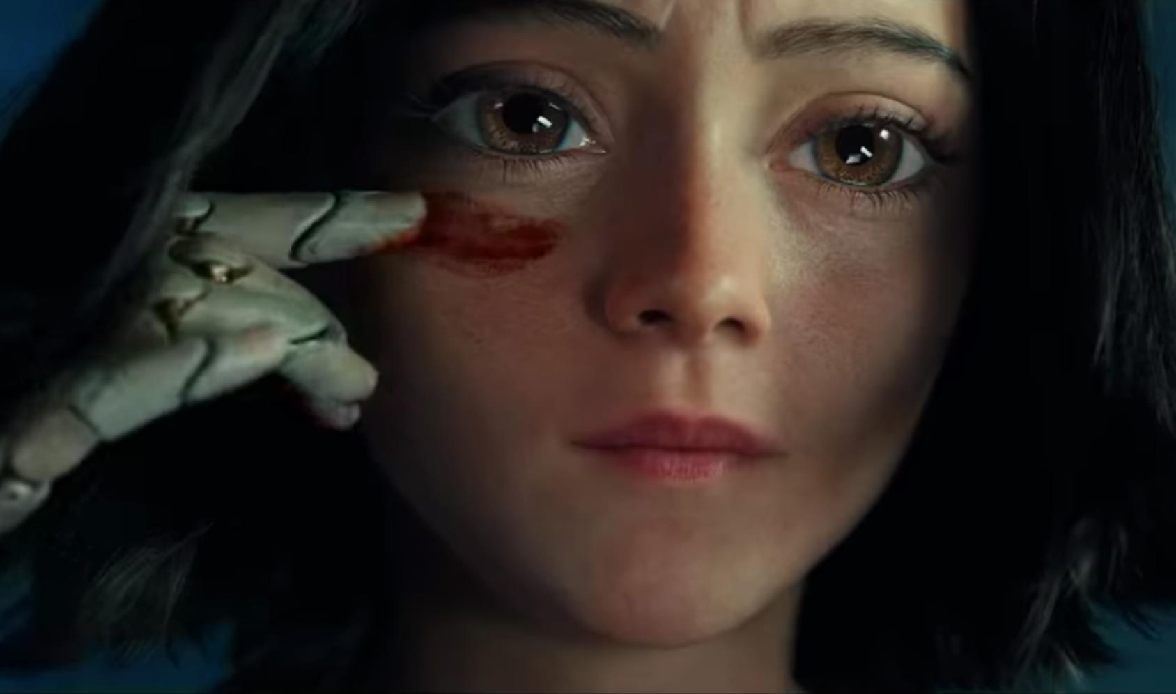 Alita Battle Angel - Big Anime Eyes
