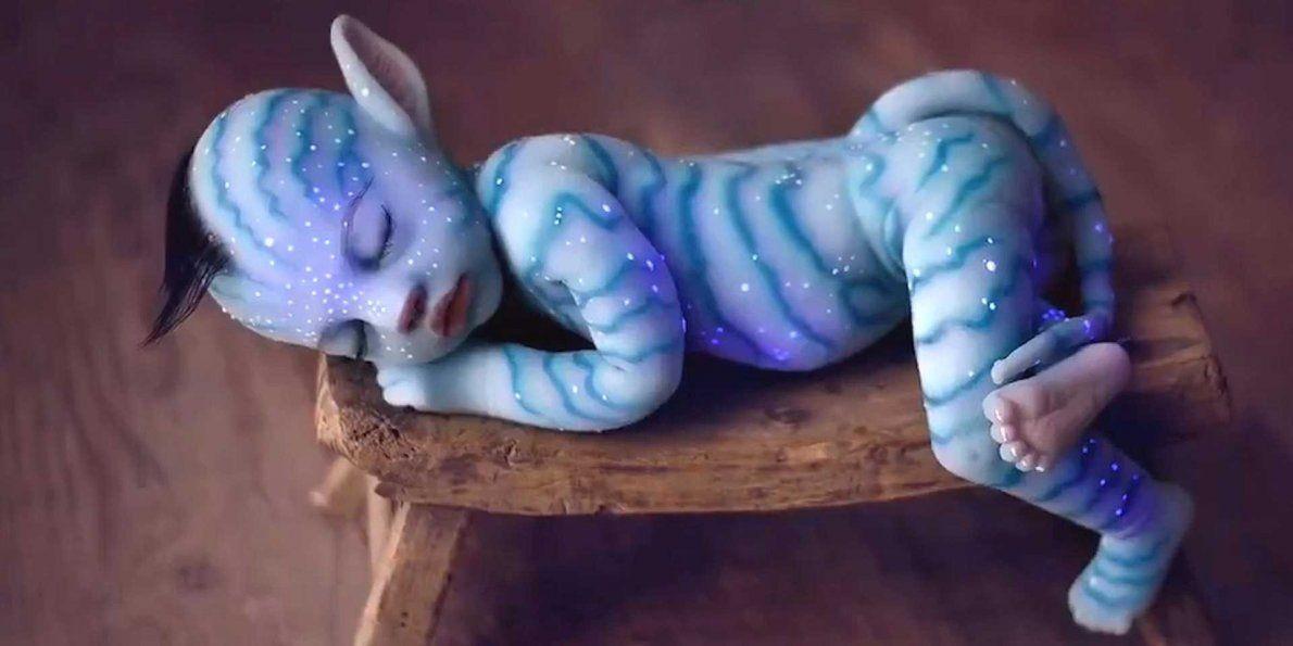 Avatar Na'vi Silicon Baby