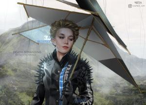 Death Stranding Review Umbrella