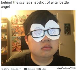 Alita Battle Angel Big Eyes Meme