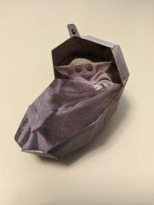 Baby Yoda Free Cutout From Jon Favreau. It's Authorized