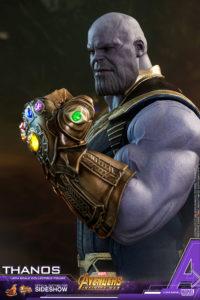Thanos Gauntlet Detail